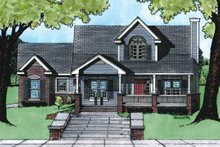 House Plan Design - Traditional Exterior - Front Elevation Plan #20-409