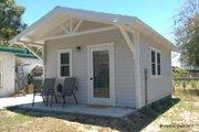 Craftsman Style House Plan - 1 Beds 1 Baths 224 Sq/Ft Plan #922-4