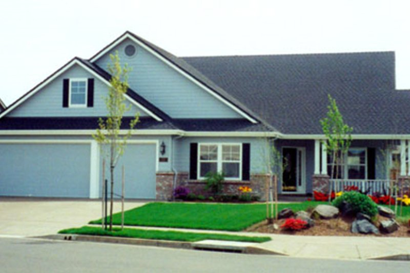 Home Plan - Exterior - Front Elevation Plan #124-342
