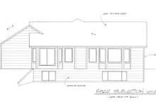 Mediterranean Exterior - Rear Elevation Plan #58-212