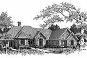 European Style House Plan - 3 Beds 2.5 Baths 2991 Sq/Ft Plan #70-468 Exterior - Front Elevation