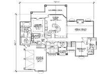 Traditional Floor Plan - Main Floor Plan Plan #5-360