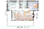 Cottage Style House Plan - 3 Beds 2 Baths 1479 Sq/Ft Plan #23-2711 Floor Plan - Main Floor Plan
