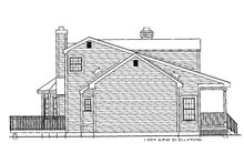 Dream House Plan - Country Exterior - Other Elevation Plan #3-296