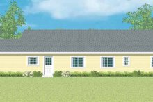 House Plan Design - Ranch Exterior - Other Elevation Plan #72-1097