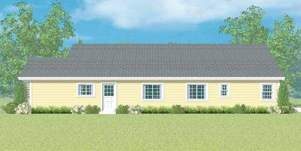 Ranch Floor Plan - Other Floor Plan Plan #72-1097