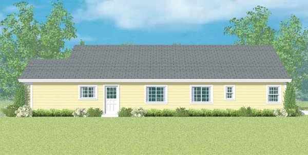 House Blueprint - Ranch Floor Plan - Other Floor Plan #72-1097
