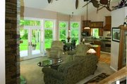 Craftsman Style House Plan - 3 Beds 2.5 Baths 1999 Sq/Ft Plan #120-198 Interior - Family Room