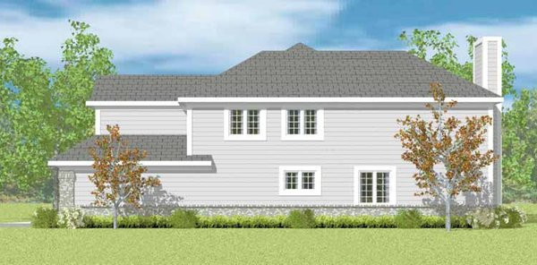 Classical Floor Plan - Other Floor Plan Plan #72-1089