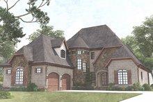 Dream House Plan - European Exterior - Front Elevation Plan #923-1