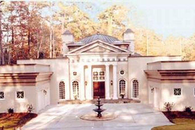 Classical Photo Plan #119-259 - Houseplans.com