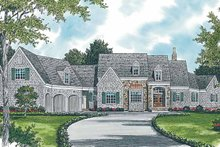 Architectural House Design - Country Exterior - Front Elevation Plan #453-236