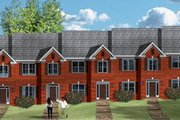 Traditional Style House Plan - 2 Beds 2.5 Baths 5550 Sq/Ft Plan #26-203 Exterior - Front Elevation