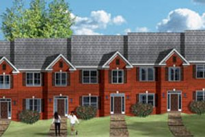Traditional Exterior - Front Elevation Plan #26-203