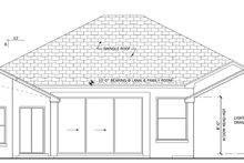 House Plan Design - Mediterranean Exterior - Rear Elevation Plan #1058-40