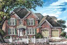 Classical Exterior - Front Elevation Plan #929-668