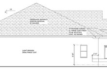 Mediterranean Exterior - Other Elevation Plan #1058-39