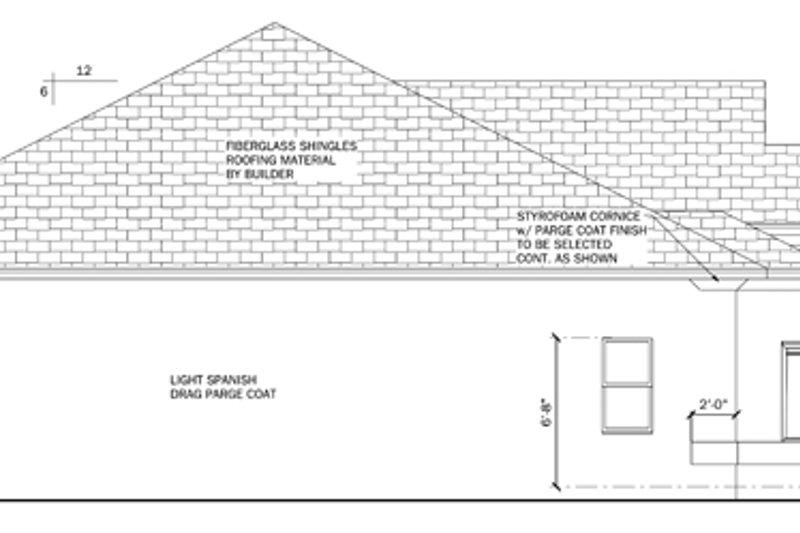 Mediterranean Exterior - Other Elevation Plan #1058-39 - Houseplans.com