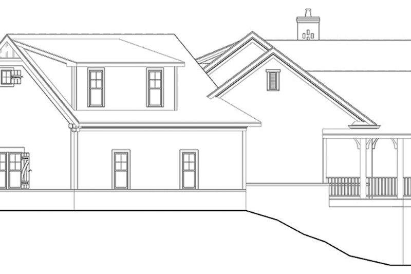 Craftsman Exterior - Other Elevation Plan #119-426 - Houseplans.com