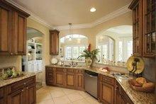 Dream House Plan - Southern Interior - Kitchen Plan #930-123