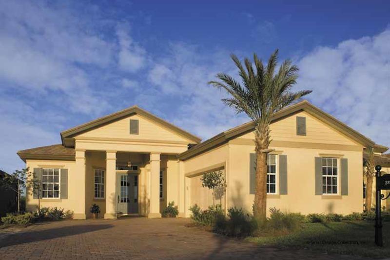 Classical Exterior - Front Elevation Plan #930-396 - Houseplans.com