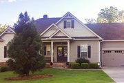 Ranch Style House Plan - 3 Beds 2.5 Baths 2303 Sq/Ft Plan #437-77 Exterior - Rear Elevation