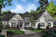 Ranch Style House Plan - 4 Beds 3 Baths 2432 Sq/Ft Plan #929-1018 Exterior - Front Elevation
