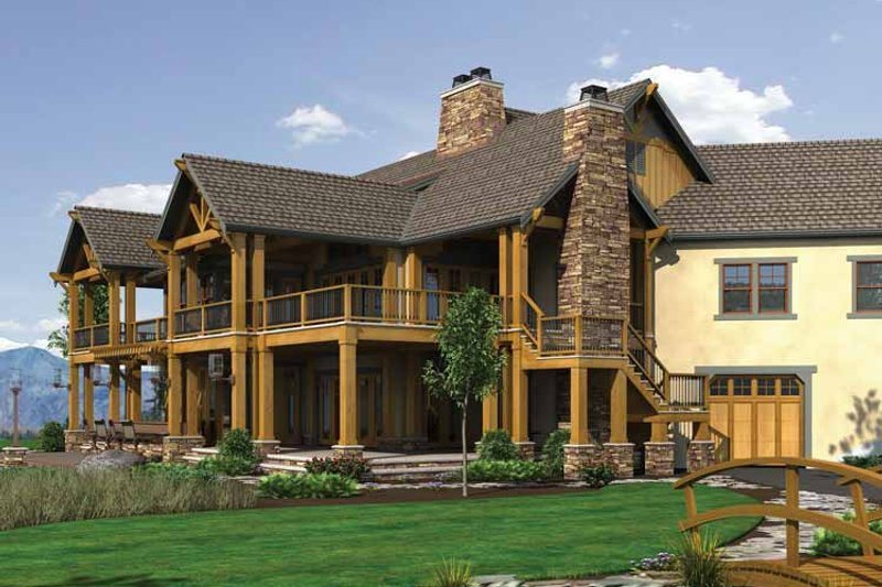 Craftsman Exterior - Other Elevation Plan #132-560 - Houseplans.com