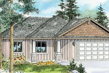 Craftsman Exterior - Front Elevation Plan #124-775
