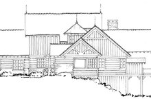 Craftsman Exterior - Other Elevation Plan #942-30