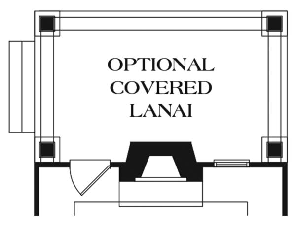 Craftsman Floor Plan - Other Floor Plan Plan #453-619