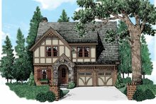 House Plan Design - European Exterior - Front Elevation Plan #927-543