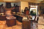 Mediterranean Style House Plan - 4 Beds 4.5 Baths 4951 Sq/Ft Plan #930-353 Interior - Kitchen