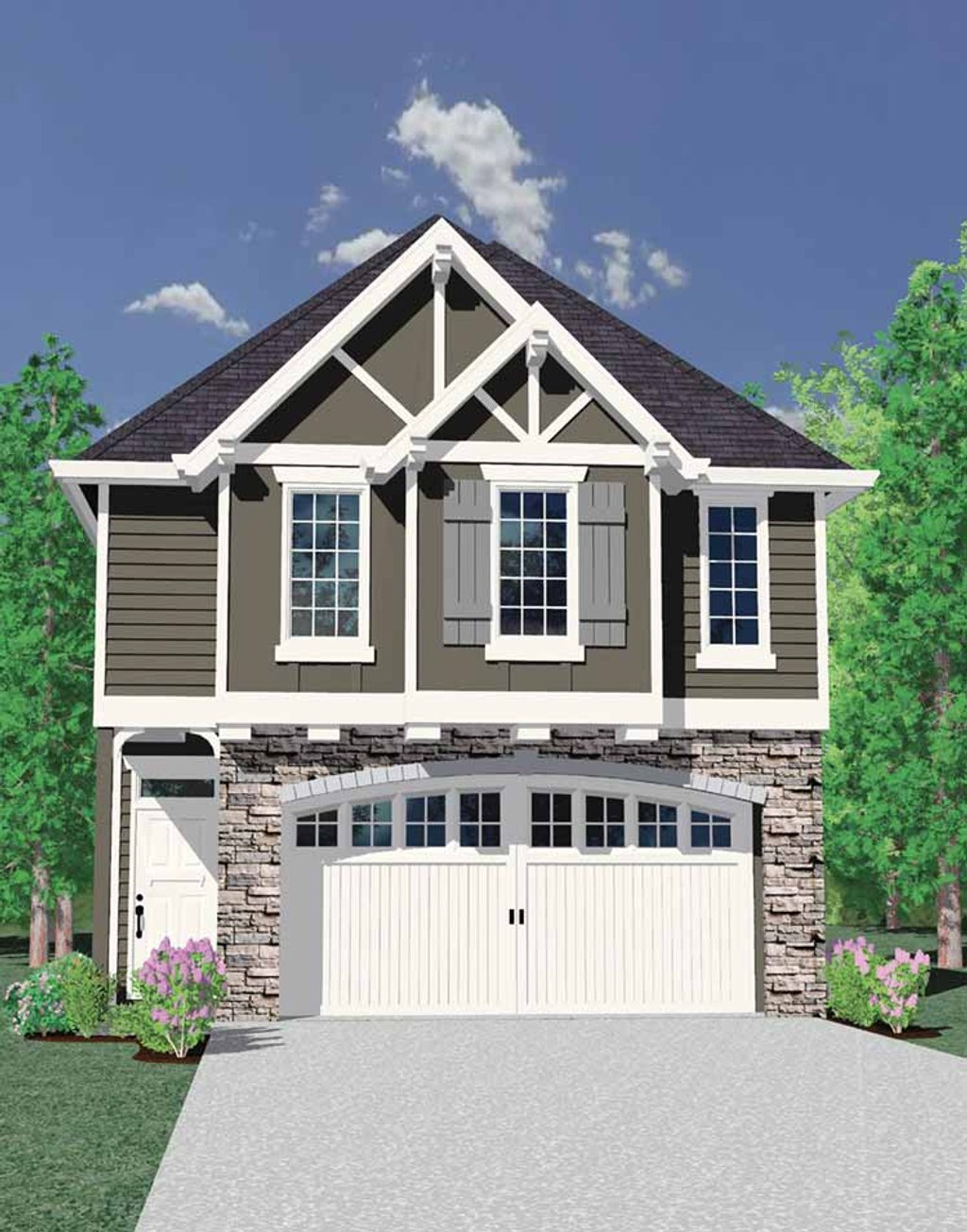 Craftsman style house plan 4 beds 2 5 baths 1677 sq ft for Breland homes floor plans