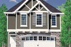 Craftsman Exterior - Front Elevation Plan #509-182