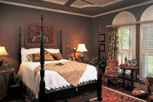 Architectural House Design - Mediterranean Interior - Bedroom Plan #952-178