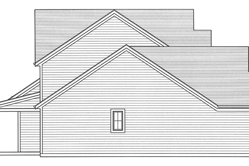 Traditional Exterior - Other Elevation Plan #46-850 - Houseplans.com