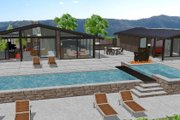 Ranch Style House Plan - 3 Beds 3 Baths 2787 Sq/Ft Plan #544-1 Exterior - Other Elevation