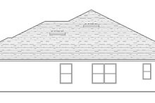 House Plan Design - Traditional Exterior - Other Elevation Plan #1058-121