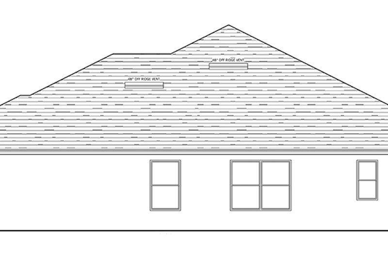 Traditional Exterior - Other Elevation Plan #1058-121 - Houseplans.com