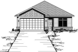 Traditional Exterior - Front Elevation Plan #51-245