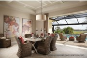 Mediterranean Style House Plan - 3 Beds 4.5 Baths 3371 Sq/Ft Plan #930-456 Interior - Dining Room