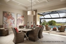 Mediterranean Interior - Dining Room Plan #930-456