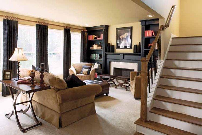 Country Interior - Family Room Plan #927-164 - Houseplans.com