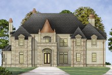 House Plan Design - European Exterior - Front Elevation Plan #119-419