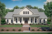Farmhouse Style House Plan - 4 Beds 3 Baths 2390 Sq/Ft Plan #430-215 Exterior - Front Elevation