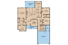 Traditional Floor Plan - Main Floor Plan Plan #923-32