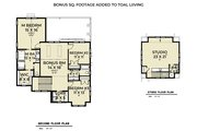 Farmhouse Style House Plan - 3 Beds 2.5 Baths 2699 Sq/Ft Plan #1070-137