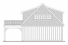 Home Plan - Farmhouse Exterior - Rear Elevation Plan #124-893