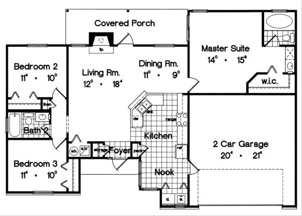 Ranch Style House Plan - 3 Beds 2 Baths 1300 Sq/Ft Plan #417-113 on 1600 sq ft ranch house plans, 3000 sq ft ranch house plans, 2200 sq ft ranch house plans, 1800 sq ft ranch house plans, 800 sq ft ranch house plans, 2000 sq ft ranch house plans, 1200 sq ft ranch house plans, 1700 sq ft ranch house plans, 1000 sq ft ranch house plans, 700 sq ft ranch house plans, 3500 sq ft ranch house plans, 1500 sq ft ranch house plans, 1400 sq ft ranch house plans, 5000 sq ft ranch house plans, 2400 sq ft ranch house plans, 2300 sq ft ranch house plans, 1100 sq ft ranch house plans, 1450 sq ft ranch house plans, 3200 sq ft ranch house plans, 4000 sq ft ranch house plans,
